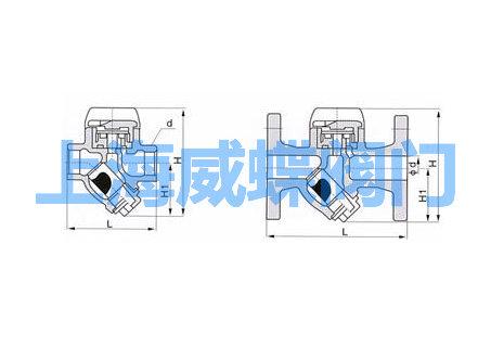 圆盘式疏水阀结构图图片